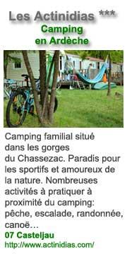 Les Actinidias, en Ardèche