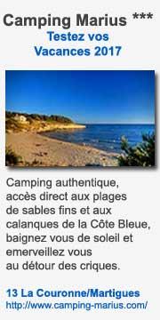 Camping Marius sur la Côte d'Azur
